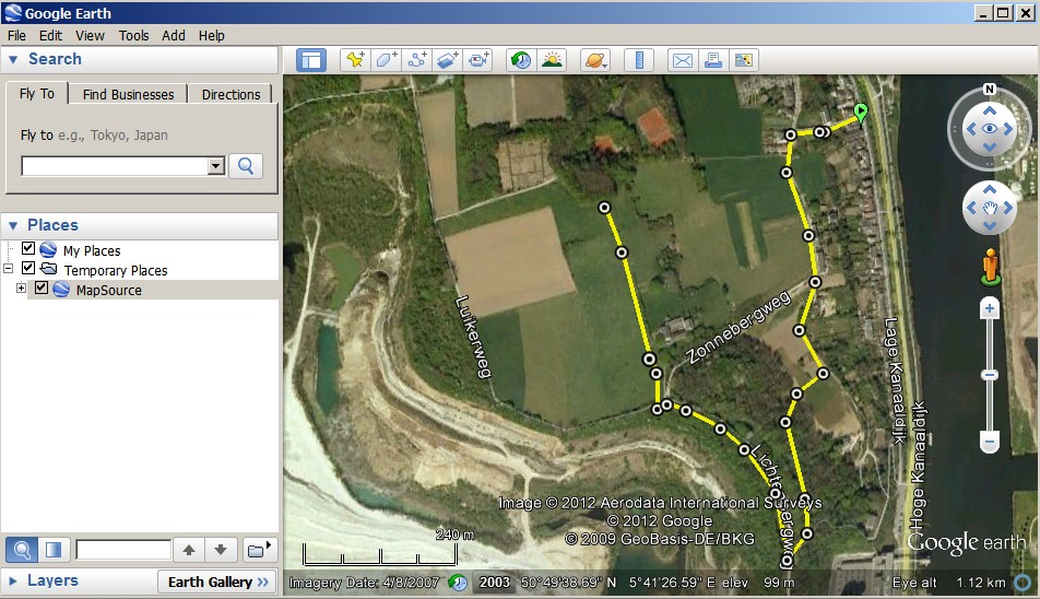 Tracks in google earth how to edit a gps track with google earth gumiabroncs Gallery