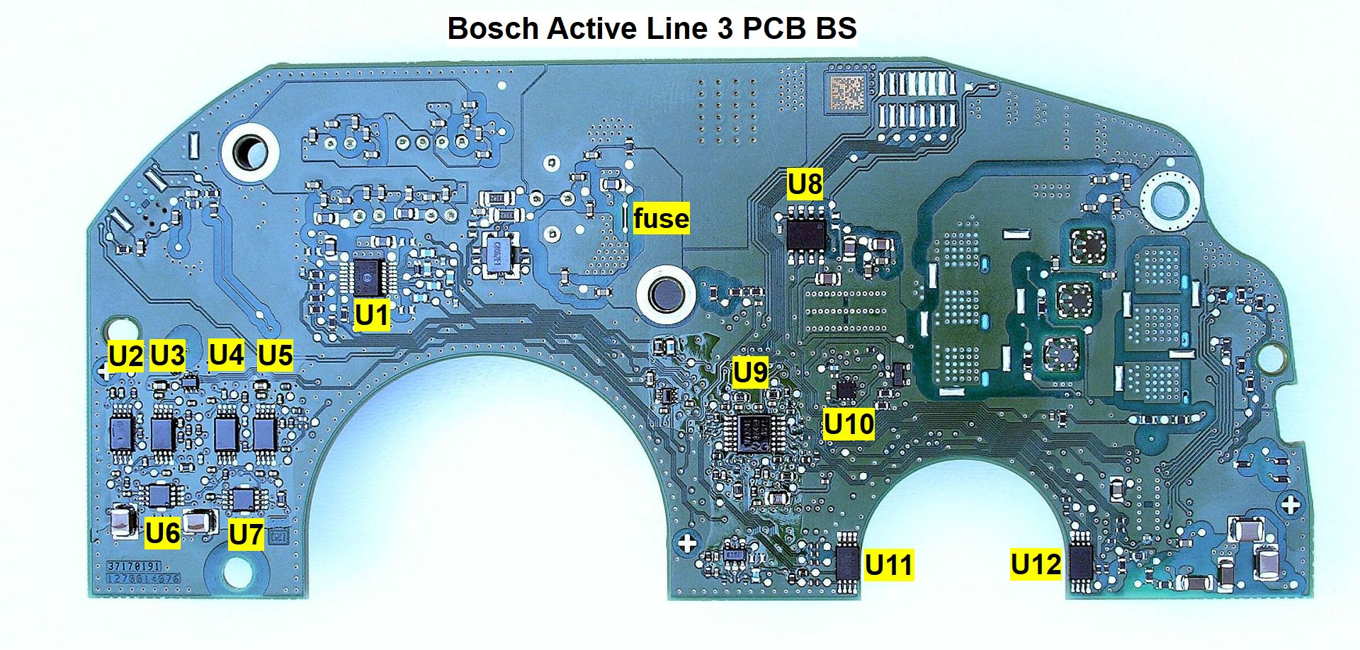 Bosch Active Line 3 Pcb