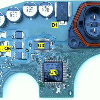 Bosch Active Line 3 printed circuit board explained