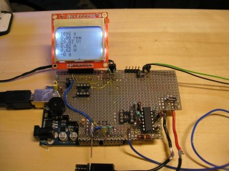 Arduino frequency counter used in e-bike Watt meter