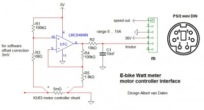 Using the motor controller shunt