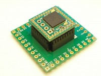 The smallest SAM 15x15 board with 1.27mm headers