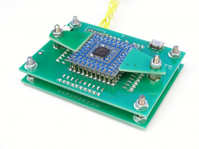 Test jig for PCB probe testing