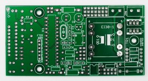 PCB with extra perfboard pads