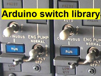 Arduino switch debounce library