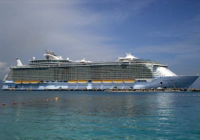 One billion dollar cruise ship Allure of the Seas