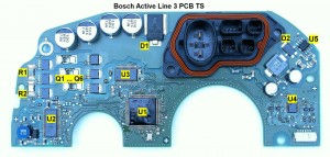 Bosch active line 3 PCB explained