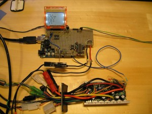 Arduino and motor controller