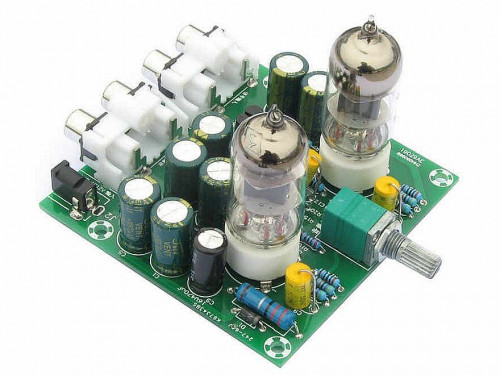 Cheap 6J1 tube preamp board from AliExpress